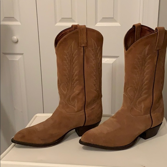 Tony Lama Shoes | Tony Lama Suede Boots